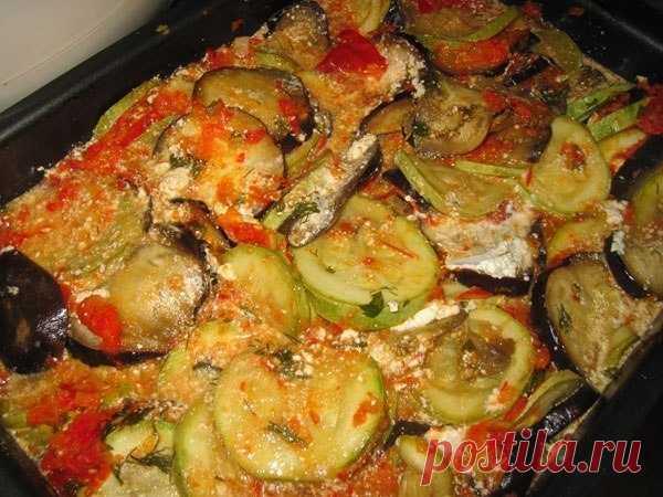 Рататуй — простое, но очень вкусное и популярное летнее блюдо!