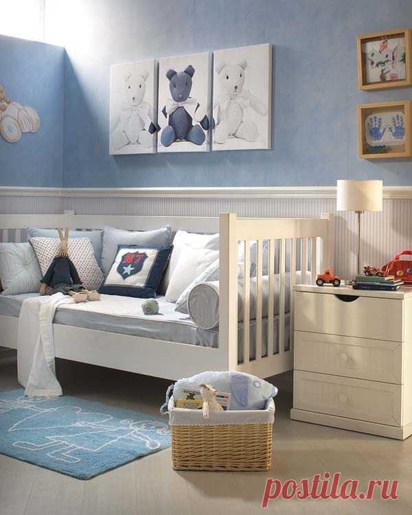 Симпатичное решение для детской комнаты