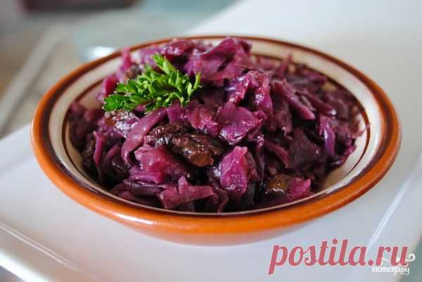 Краснокочанная капуста по-испански - пошаговый кулинарный рецепт на Повар.ру