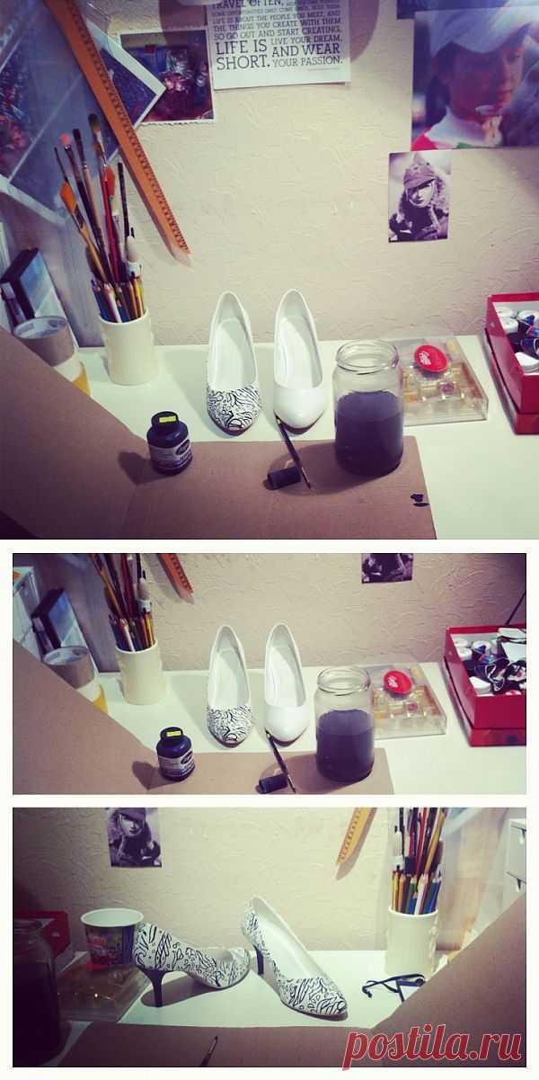 НЕ одноразовые туфли / Обувь / Модный сайт о стильной переделке одежды и интерьера