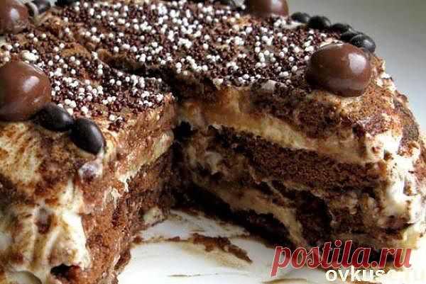 Торт пряничный без выпечки - Простые рецепты Овкусе.ру