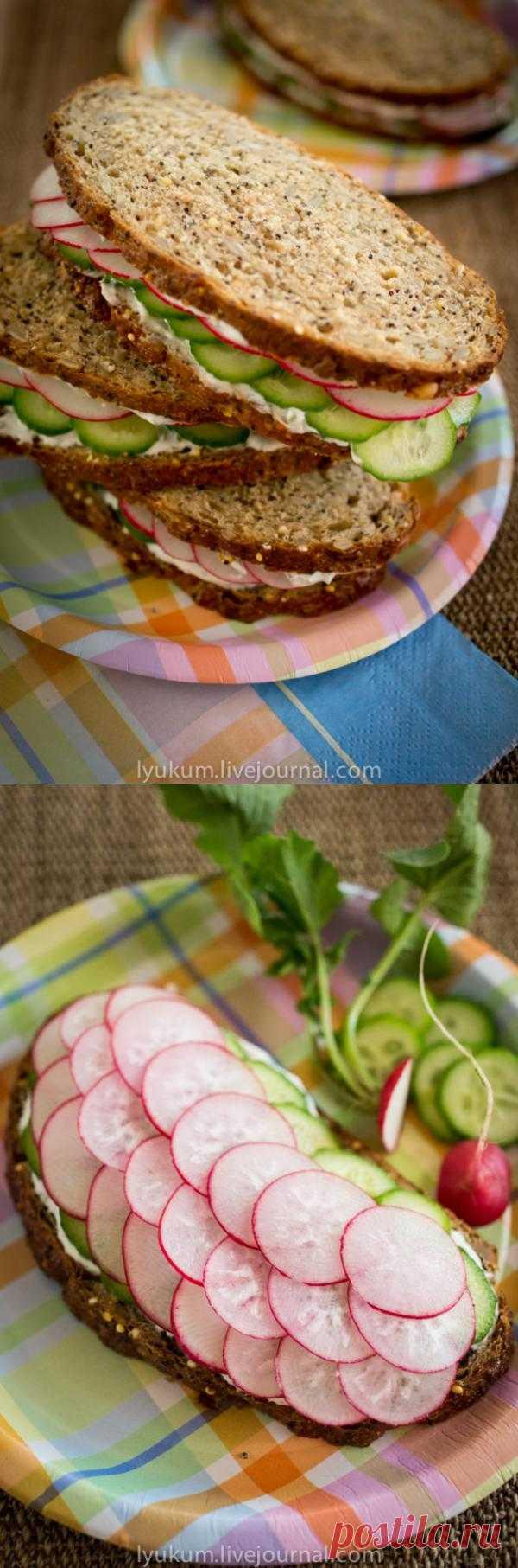 Готовимся к пикнику: весенние бутерброды
