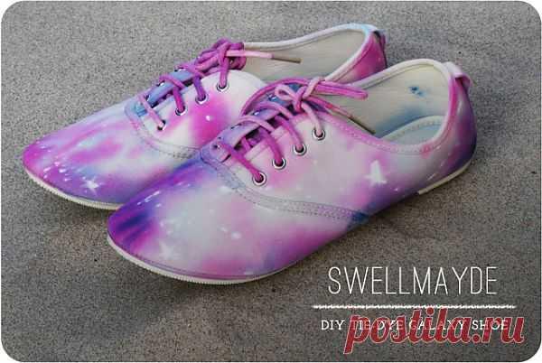 Galaxy (мастер-класс) / Обувь / Модный сайт о стильной переделке одежды и интерьера