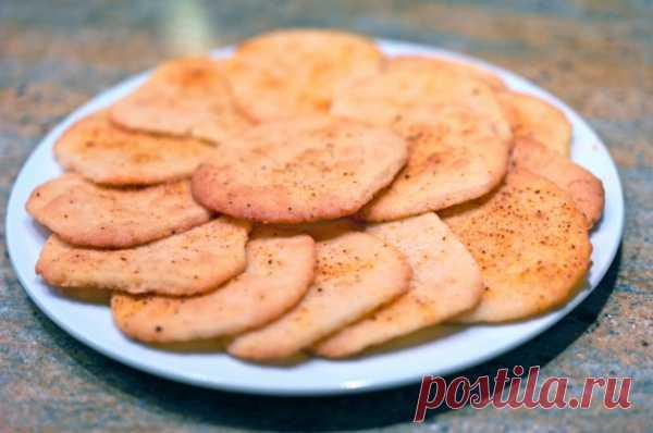 The recipe from Beloniki: parmezanovy cookies