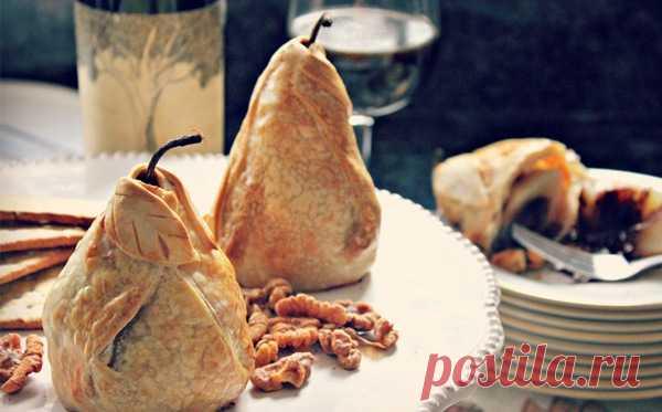 Элегантные запеченные груши могут быть фаршированны всем, чем вашей душе угодно! Это простое блюдо никого не оставит равнодушными! (Интуитивно понятный рецепт в фотографиях по клику на картинку).