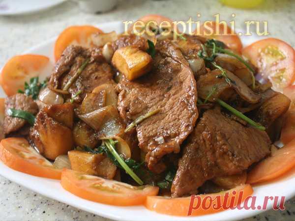 Горячие блюда на День рождения (второе) | Кулинарные рецепты с фото на Рецептыши.ру