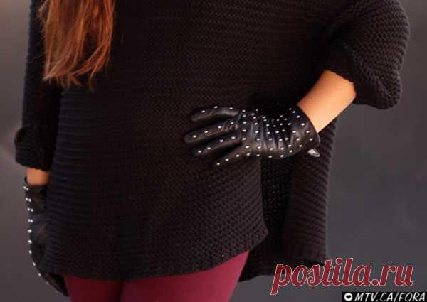 Повтор перчаток Burberry (видео мастер-класс) / Перчатки и варежки / Модный сайт о стильной переделке одежды и интерьера