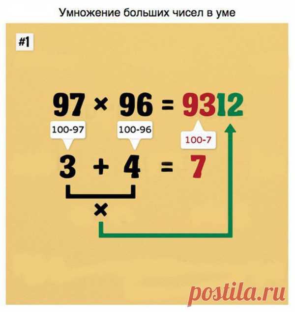 9 советов, которые помогут вам овладеть математикой в два счёта