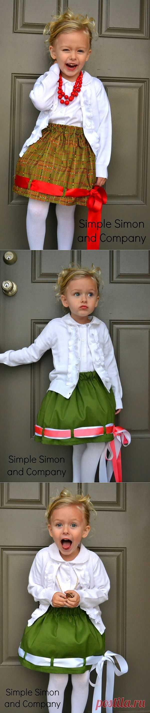 Юбки со сменным декором / Для детей / Модный сайт о стильной переделке одежды и интерьера