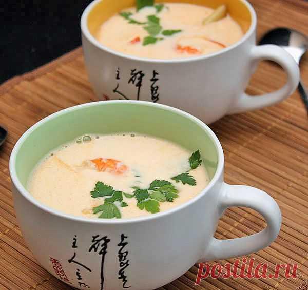 Том ям гунг (с креветками) — рецепт с пошаговыми фото. Foodclub.ru