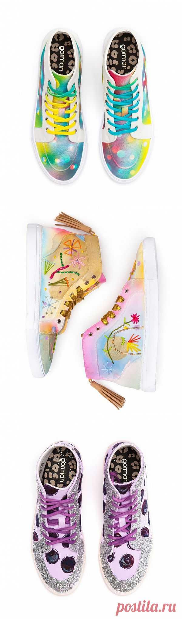 21 способ переделать белые кеды - от Gorman (трафик) / Обувь / Модный сайт о стильной переделке одежды и интерьера