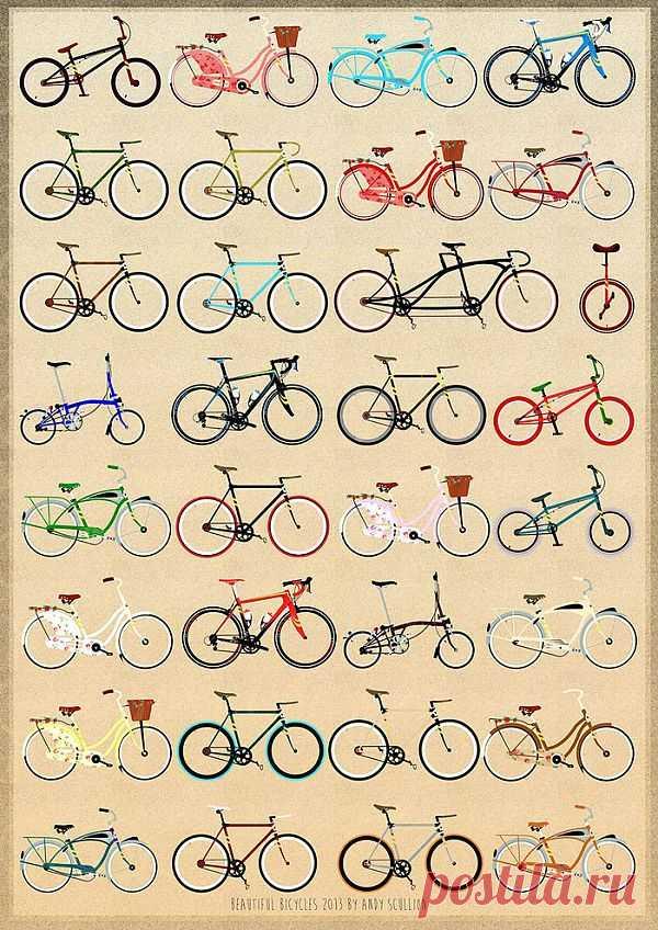 формы велосипедов