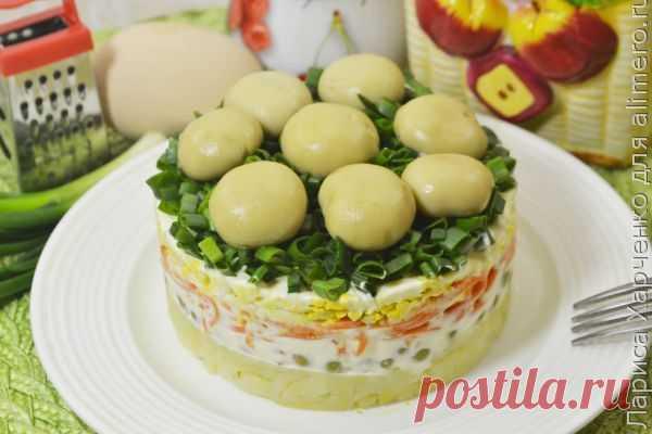 Новогодние салаты с рецептами и фото