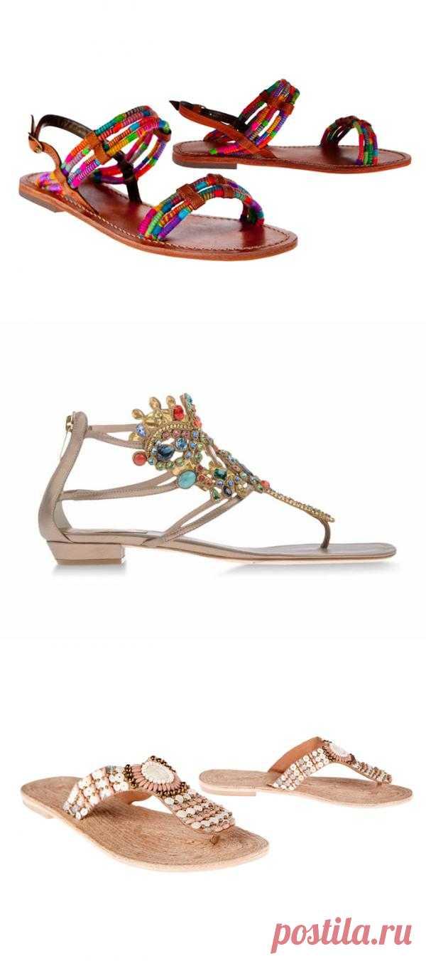 Пляжная обувь 2013