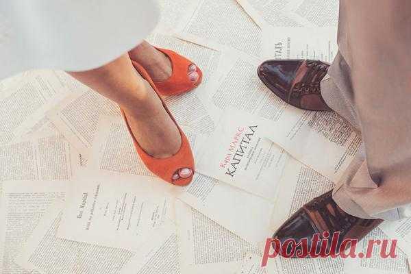 Оранжевый октябрь: свадьба Евгения и Ирины - WeddyWood