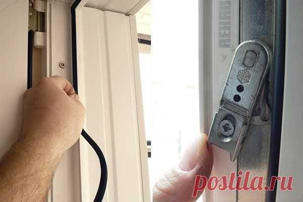 Пластиковые окна – уход и эксплуатация, смазка уплотнителей и фурнитуры
