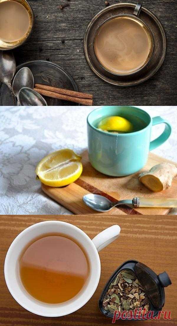 имбирный чай и не только