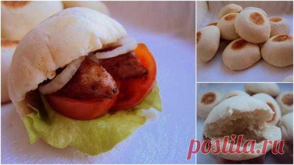 Батбуты - лепешки для маленьких бутербродов.