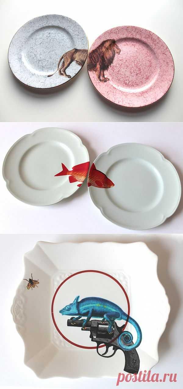 Парная посуда - дубль два (подборка) / Сервировка стола / Модный сайт о стильной переделке одежды и интерьера