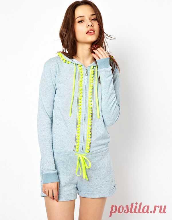 Декор худи тесьмой с помпончиками / Худи / Модный сайт о стильной переделке одежды и интерьера