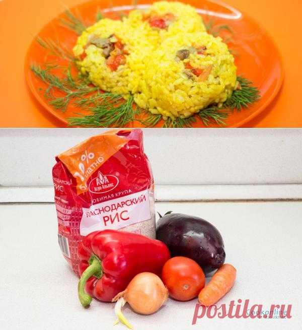В желтом цвете: Рисовые гнезда с овощами