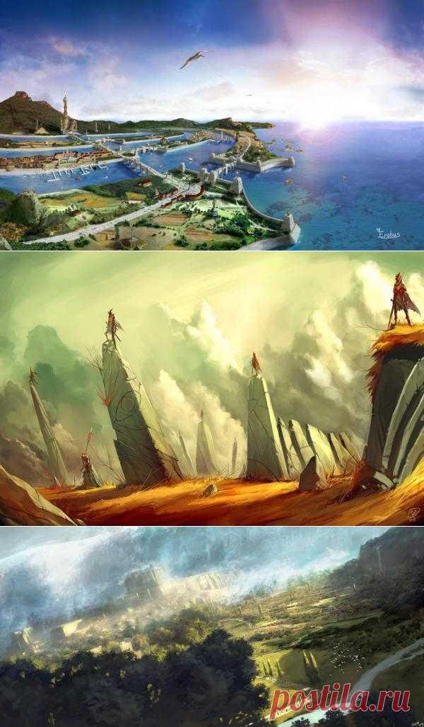 Затерянный остров Атлантида