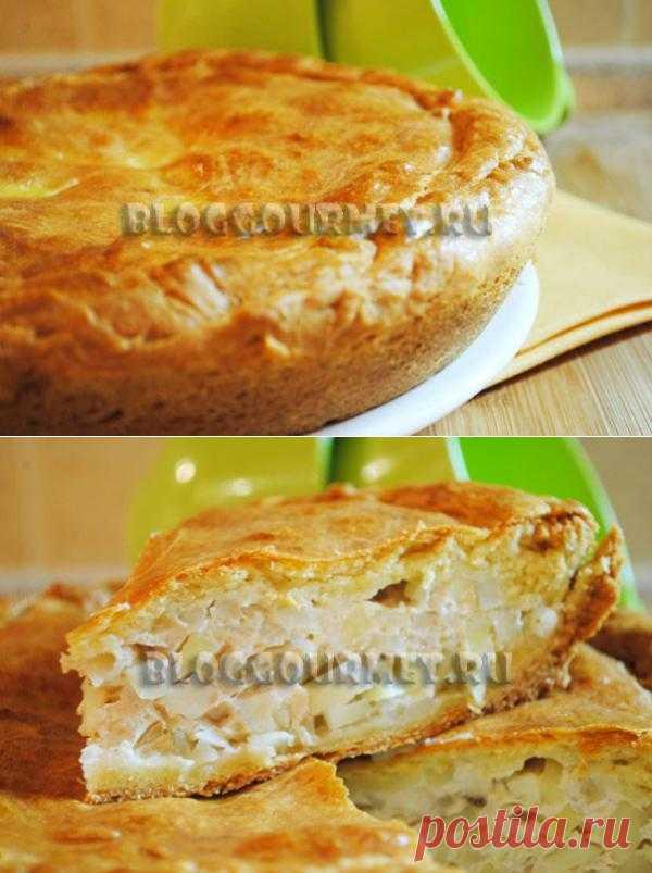 Пирог с картошкой и курицей | Кулинарный блог Просто Вкусно - только проверенные кулинарные рецепты с фото