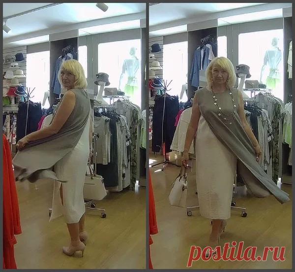 Роскошные льняные наряды для женщин 50+. Стильно и элегантно. | SVETLIFE | Яндекс Дзен