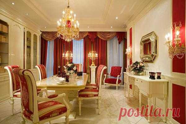 Роскошная гостиная