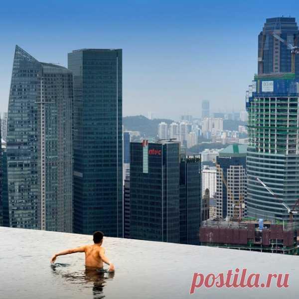El hotel en el Singapur
