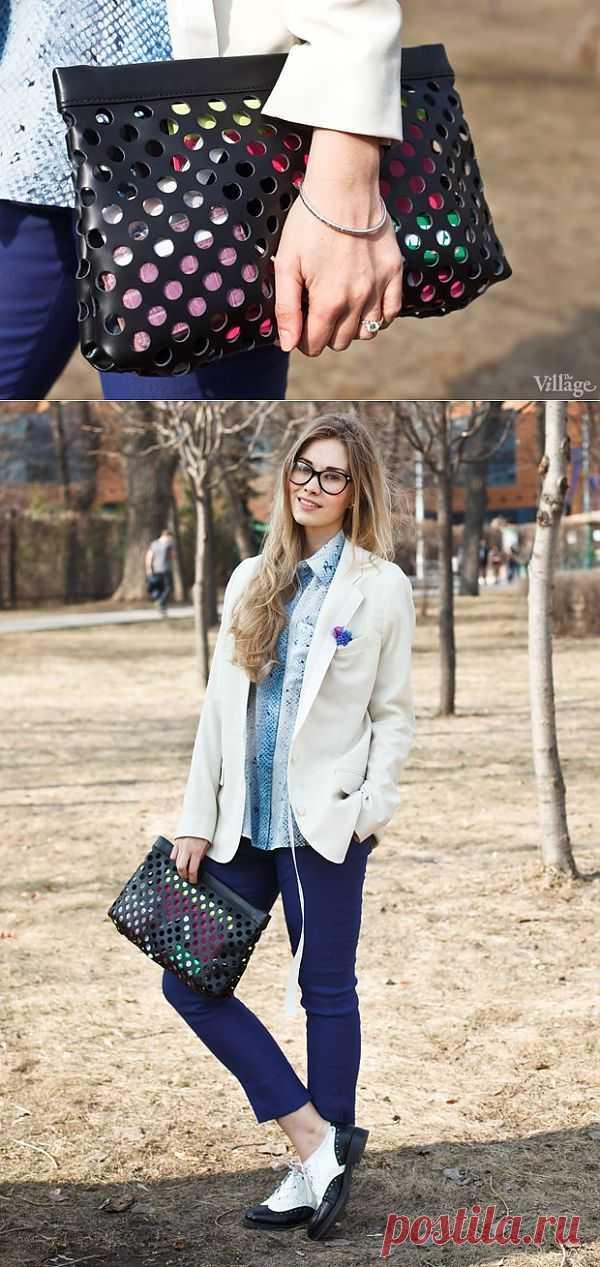 Клатч Acne / Кожа / Модный сайт о стильной переделке одежды и интерьера