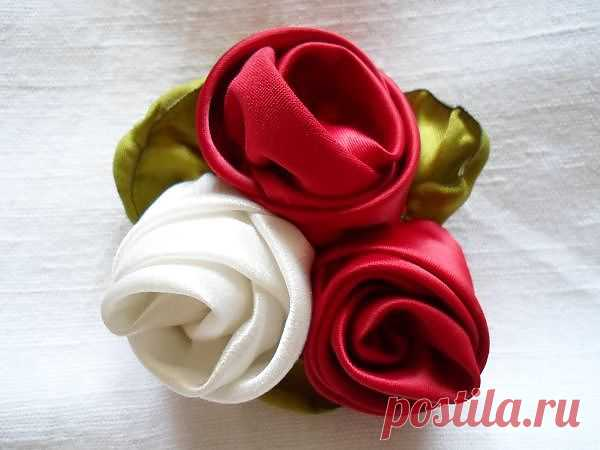 Техника изготовления крученой розы - как сделать розочку, заколки для волос своими руками, украшения своими руками