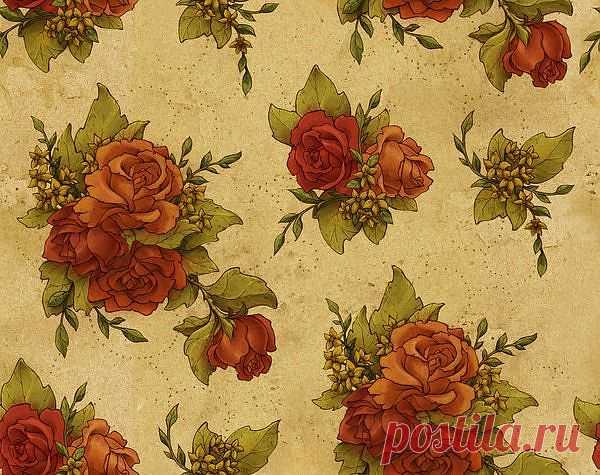 floral wallpaper by ~insurrectionx on deviantART