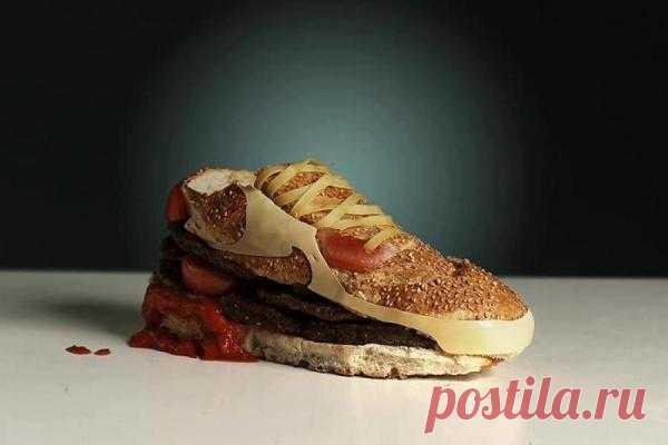 Очень аппетитная обувь...