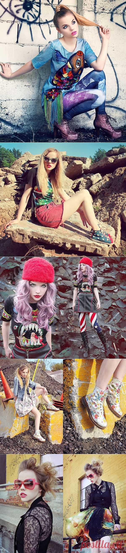 Яркая девочка (трафик) / Блоггеры / Модный сайт о стильной переделке одежды и интерьера