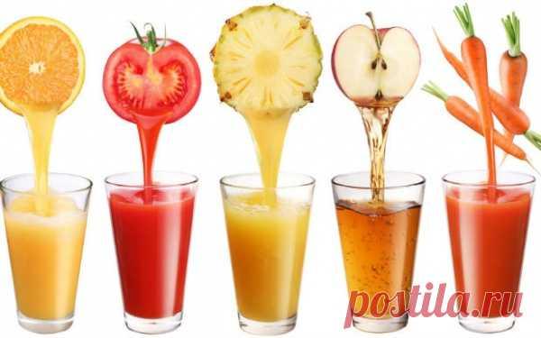 Какой свежевыжатый сок будет полезен именно для тебя?