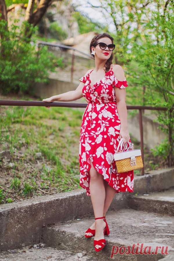 Несколько самых женственных образов от русских блоггеров лето 2017 — Модно / Nemodno