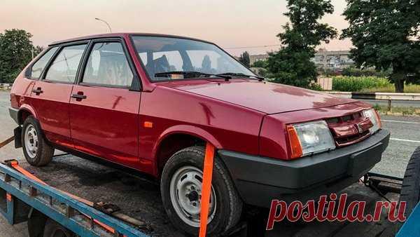 Нашел НОВУЮ девятку ВАЗ-2109 1990 года пробег всего 49 км! Капсула времени Lada Samara | Старый Гараж | Яндекс Дзен