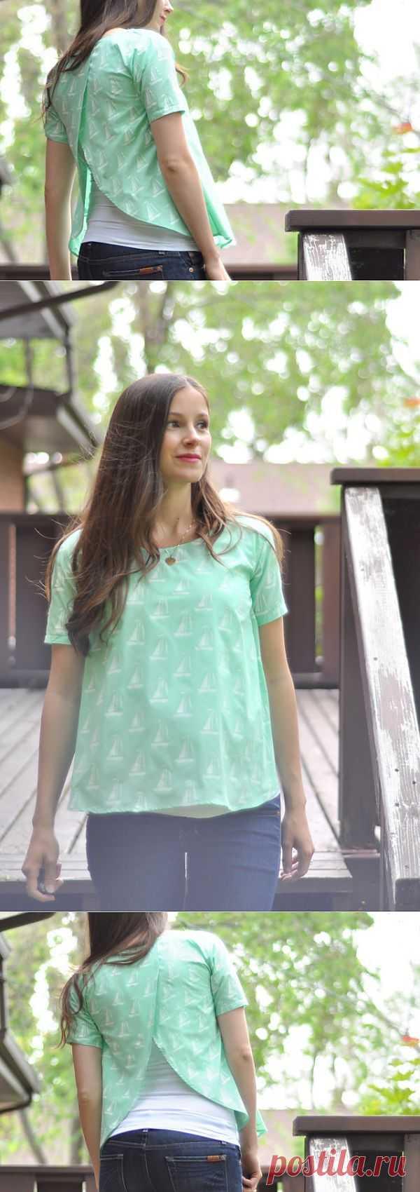 Топ для беременных (мастер-класс) / Будущие мамы / Модный сайт о стильной переделке одежды и интерьера
