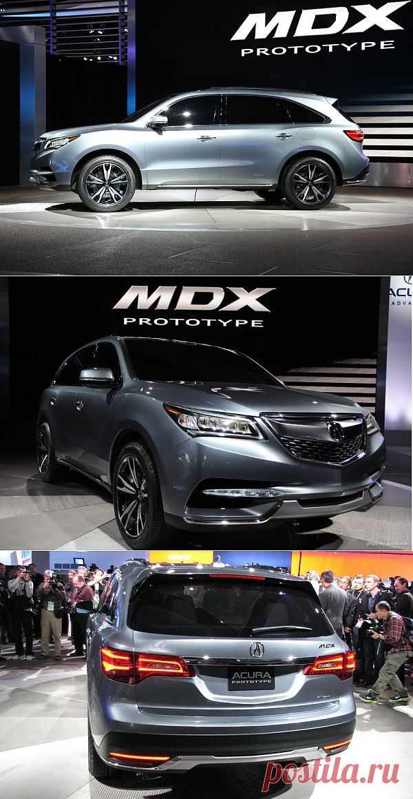 2014 Acura MDX.
