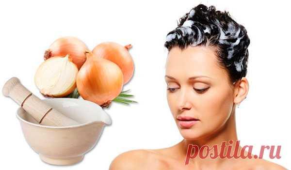 Маски от выпадения волос - луковая, с горчицей, эффективные, домашние