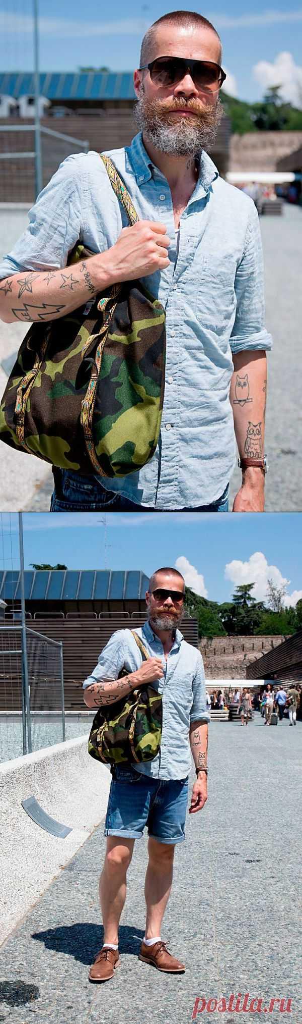 Мужская сумка камуфляж / Мужская мода / Модный сайт о стильной переделке одежды и интерьера