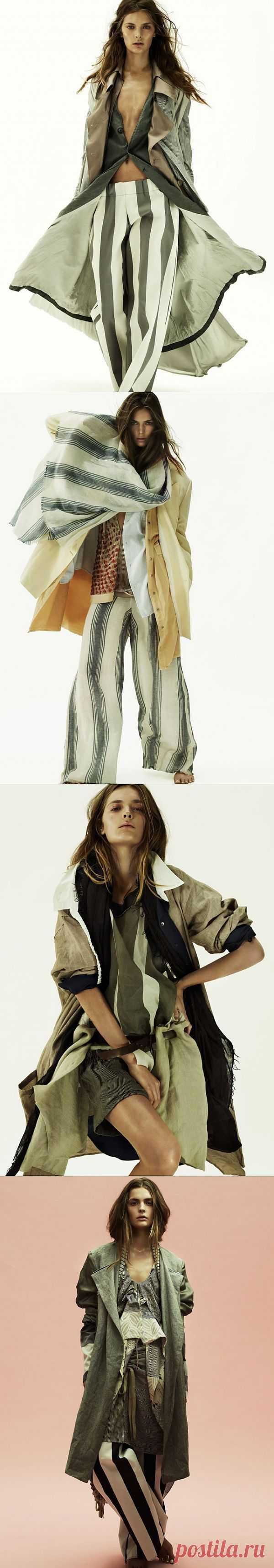 Elle Sweden / Тенденции / Модный сайт о стильной переделке одежды и интерьера
