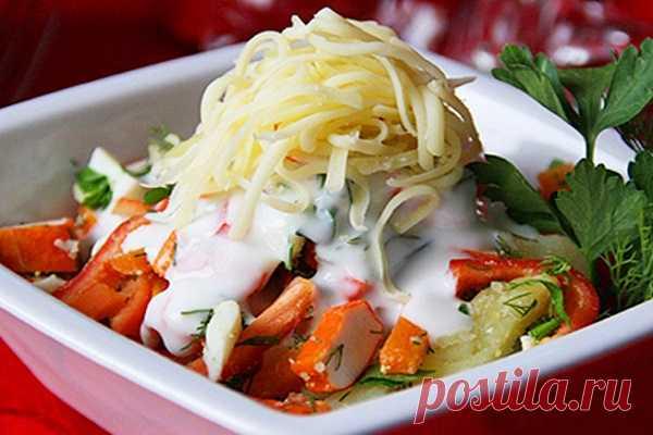 Зимний салат «Под снегом» — ХОЗЯЮШКА