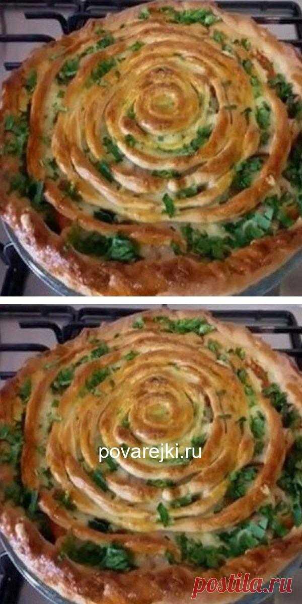 Бесподобный пирог с мясом и грибами