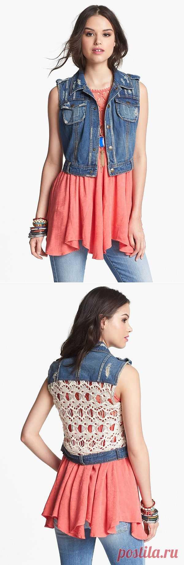 Жилет Free People / Жилеты / Модный сайт о стильной переделке одежды и интерьера