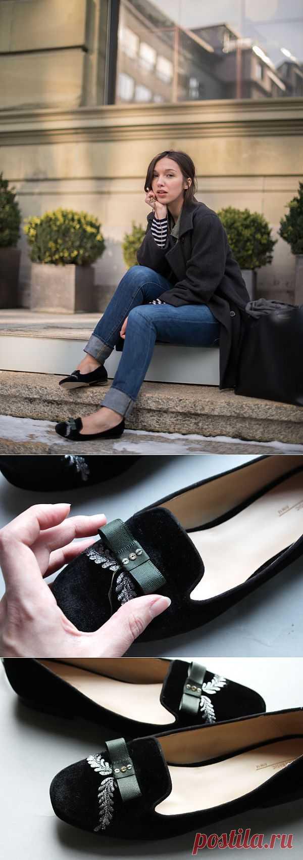 Туфли в стиле барокко (DIY) / Обувь / Модный сайт о стильной переделке одежды и интерьера