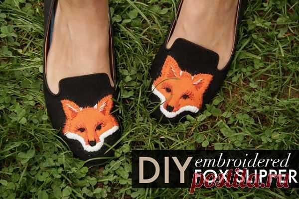 Туфли - лисицы (DIY) / Обувь / Модный сайт о стильной переделке одежды и интерьера
