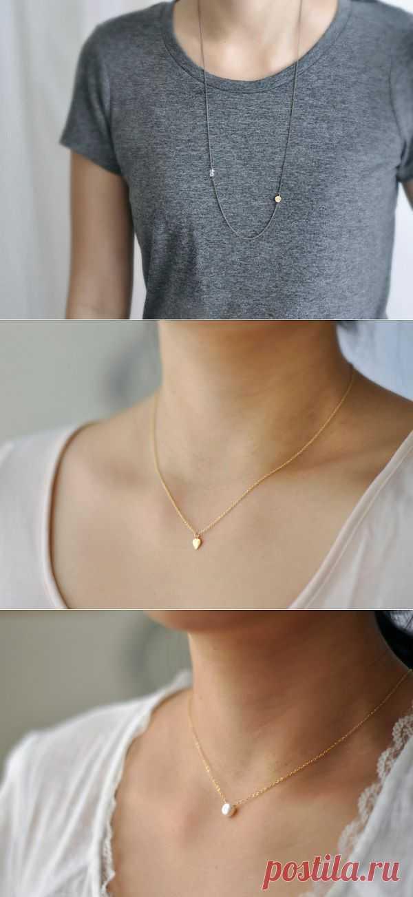 Прелесть минимализма (подборка) / Ювелирные украшения / Модный сайт о стильной переделке одежды и интерьера