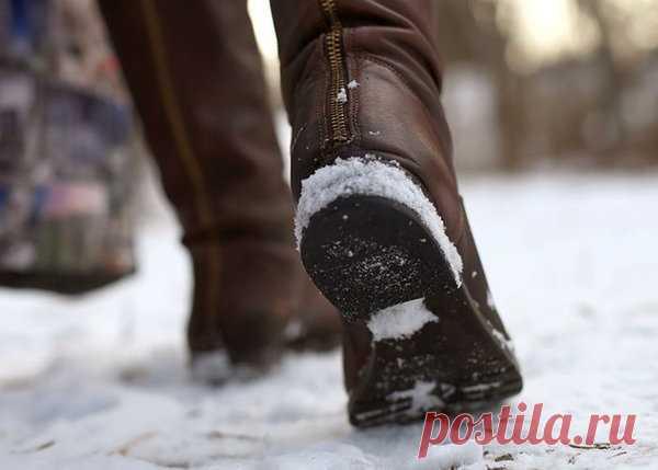 Скользкая подошва? Есть 5 простых решений, чтобы обувь не скользила! | Жить хорошо | Яндекс Дзен